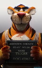 images of tigger from winnie the pooh tigger mugshot from winnie the pooh geektyrant