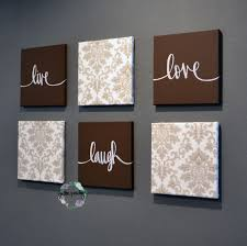 live laugh love home decor brown beige live laugh love set