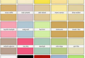 emulsion paint color chart ideas what colors to paint inside