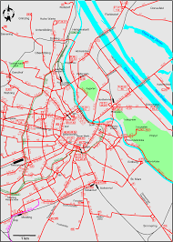 Vienna Map Aiosearch Vienna Streetcar Map