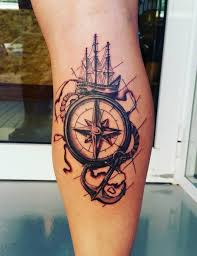 one piece compass tattoo 100 awesome compass tattoo designs compass tattoo compass and