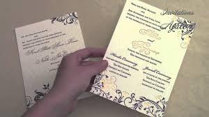 wedding invitation copy wedding invitation wording divorced parents youtube