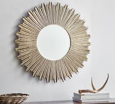 mirror home decor soleil wall mirror pottery barn