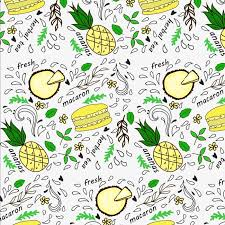 seamless pattern food elegant food fruit seamless pattern elegant pattern food fruit