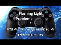ps4 controller white light ps4 controller flashing light problem quick fix youtube