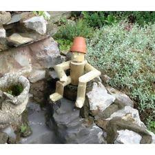 wooden garden ornaments sculptures statues ebay