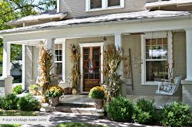 screened porch makeover 37 fall porch decorating ideas ways to decorate your porch for fall