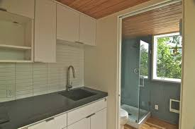 Tiny House Bathroom Design by Rotating Tiny House In Portland Soaks Up Sunshine All Day Long 359