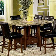 Dining Room Table With 6 Chairs Dining Room Granite Dining Table Set Macy U0027s Dining Room