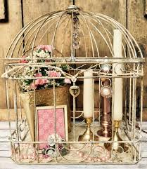 Birdcage Home Decor Antique Shabby Chic Cage Decorative For Home Decor And Weddings