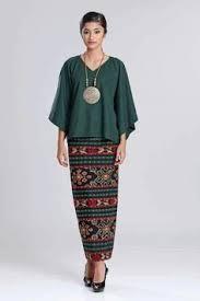 baju kurung moden zaman sekarang kebaya brukat jaman now kebaya pinterest kebaya brokat and