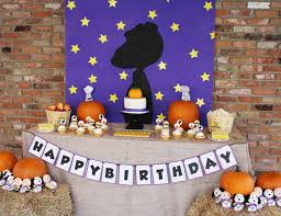 brown birthday party peanuts brown birthday caroline s it s a great pumpkin