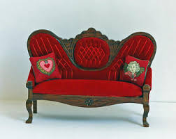 victorian sofa etsy