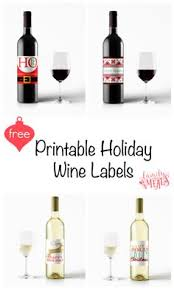 free print your own custom wine labels projects to do
