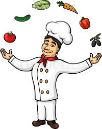 chef of cuisine chef of cuisine character wearing white tunic and