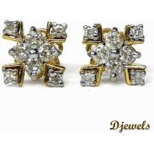 diamond earrings with price djewels designer diamond earring at best prices shopclues online