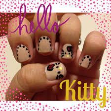 147 best hello kitty nails images on pinterest hello kitty nails