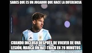 Memes De Lionel Messi - argentina vs panam磧 messi v祗ctima de memes por triplete en copa