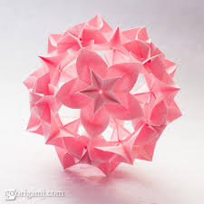 cara membuat origami kusudama kusudama ball instructions home design