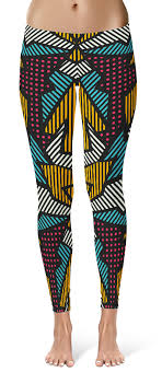 pattern leggings pinterest sharp angle pattern leggings designer leggings pinterest