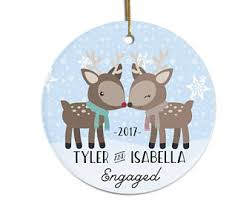 engagement ornament etsy