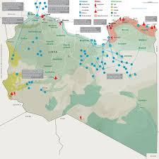 Map Of Libya Map Libya Eyes On Europe U0026 Middle East