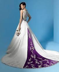 wedding dresses with purple detail alfred angelo 1187 ivory mocha size 5 wedding dress purple