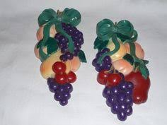 Vintage Home Interior Products Grapes Apples Pears Vintage Home Interiors Homco Ceramic