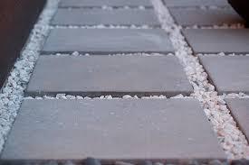 Concrete Patio Blocks Low Maintenance Backyard Design Ideas The Home Depot