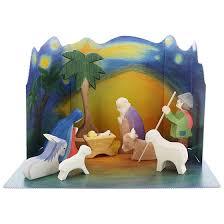 wooden nativity set ostheimer wooden nativity set toys crafts