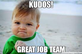 Team Meme - kudos great job team meme success kid original 37267