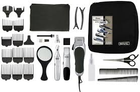wahl professional hair cutting kit 30 piece trimmer clipper barber