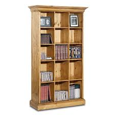 Cube Bookcase Wood Rustico Bookcase With Cube Shelves Lib 24 Afw