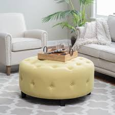 coffee table amazing round leather ottoman storage ottoman