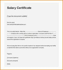Request Letter Asking For Certification salary certificate request letter sle application for employee