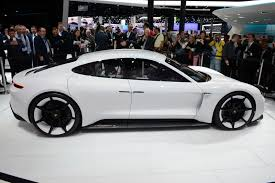 porsche concept cars porsche u0027s mission e electric concept revealed at frankfurt motor