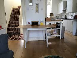 drop leaf table ikea ps 2012 bamboo white in notting hill