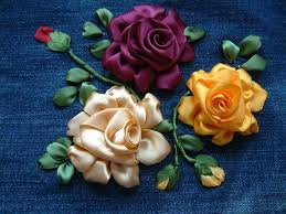 silk ribbon roses 182 best ribbon embroidery roses images on silk