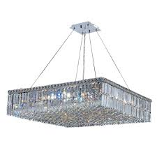 High Quality Chandeliers Worldwide Lighting Cascade Collection 12 Light Polished Chrome