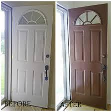 painting your front door the easy way the diy village how to paint metal front door how to paint a metal doorhow to paint