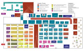 salon du running list of exhibitors and floor plan