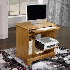 petit bureau informatique impressionnant petit bureau informatique 1574 pmc194 bois