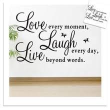 popular live love laugh wall decor buy cheap live love laugh wall