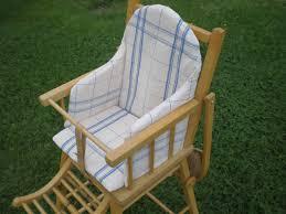 siege pour chaise haute housse de coussin pour chaise haute photo de enfants textile