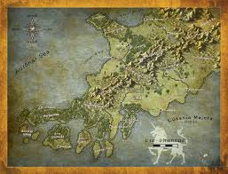 Dnd World Map by