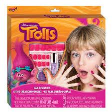 trolls nail design kit trolls brands
