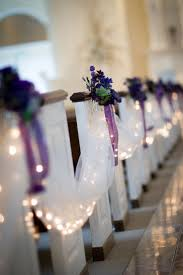 church decorations for wedding wedding decor ideas for pew decorations wedding trends looks