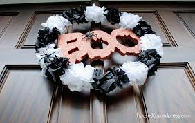 halloween decor on a budget u2013 easy 4 halloween wreath