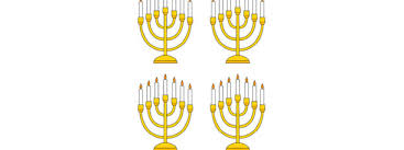 small menorah menorah cut out small