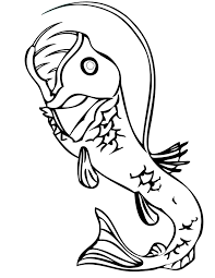 pacific viperfish coloring page handipoints
